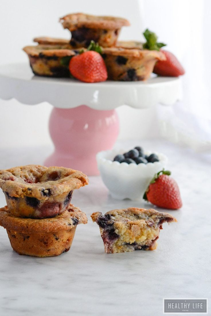 A mix of different types of berries make these Mixed Berry Muffins full of sweet, juicy flavor. The coconut oil and dairy free yogurt keep these muffins dairy free and gluten free, as well as paleo friendly.