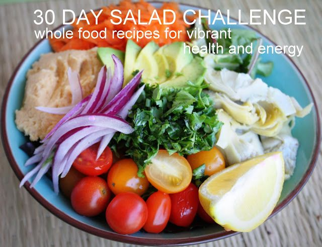 30 day salad challenge e-book