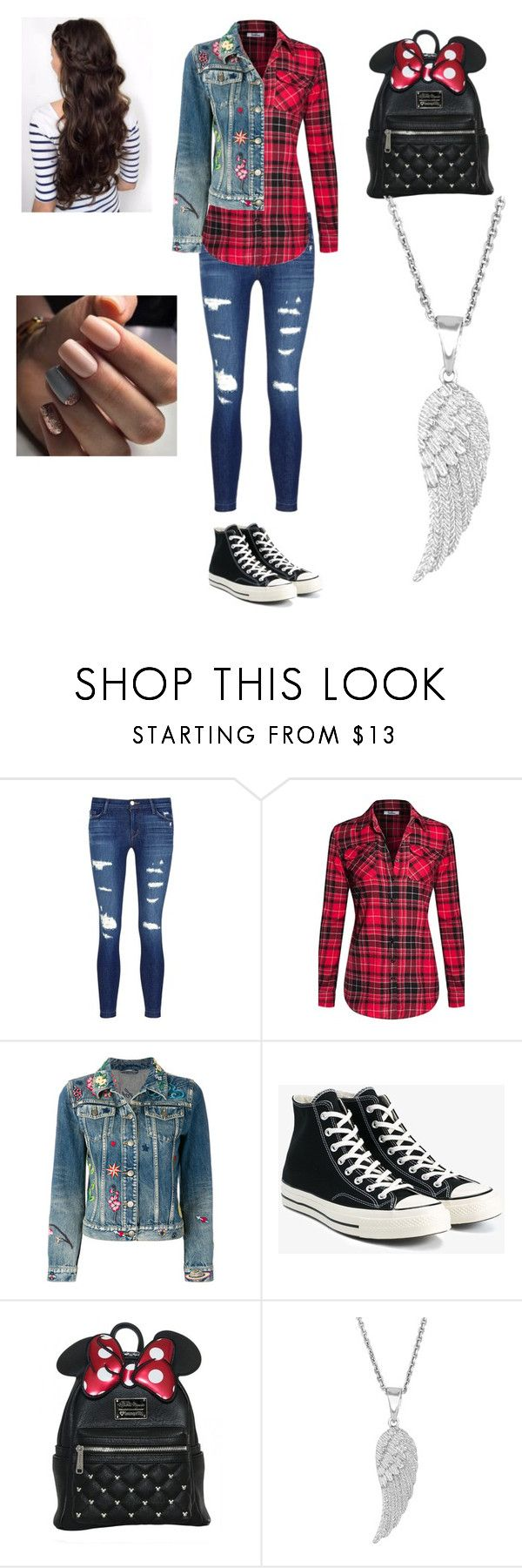 """Untitled #73"" by skyepicness on Polyvore featuring J Brand, Gucci and Converse"