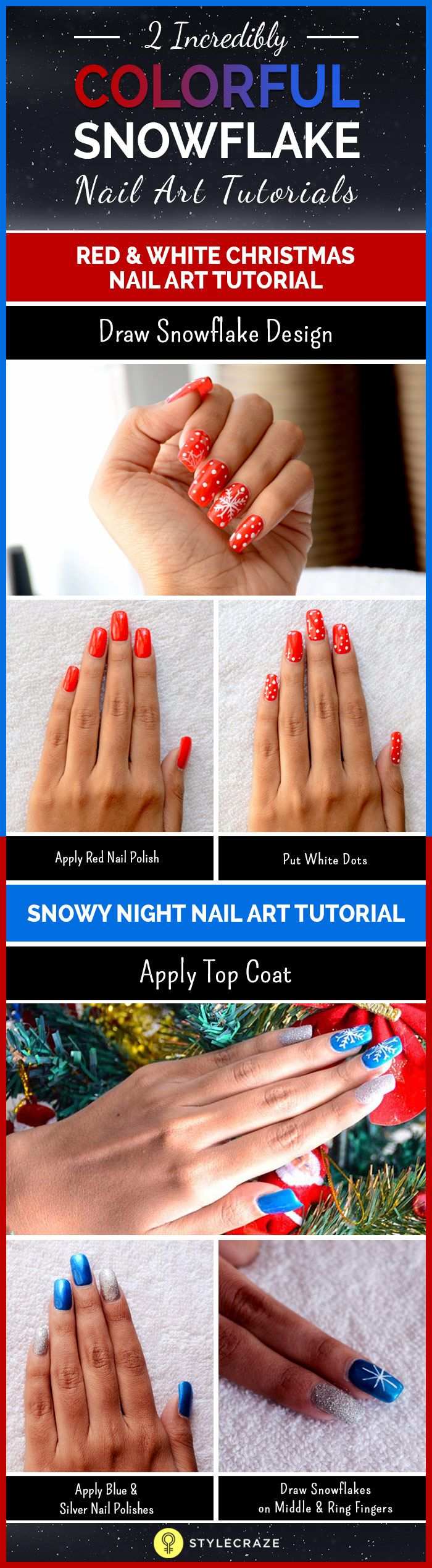 Nail polisher and callus remover nail care kit be sure to check out - 20 Fabulous And Easy Diy Christmas Nail Art Design Tutorials