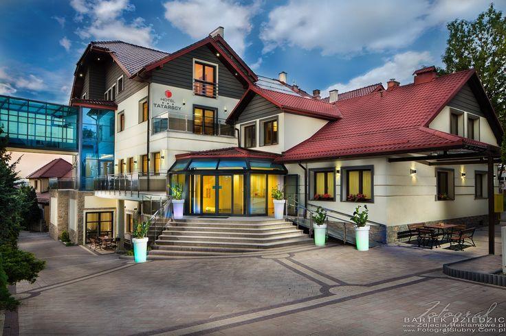 Zdjęcia reklamowe Hoteli. Hotel Tatarscy w Kalwarii Zebrzydowskiej.
