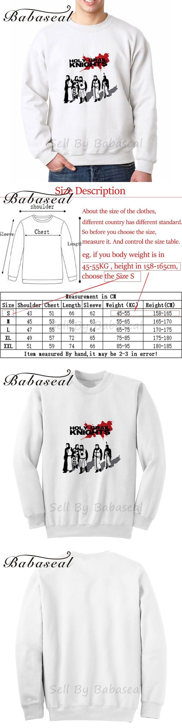 Babaseal Holy Grail Knights Print Letter Men Hoodies Kpop Sweatshirt Coat 2017 Arrival Diamond Hoodie Camouflage Men Sweatshirt