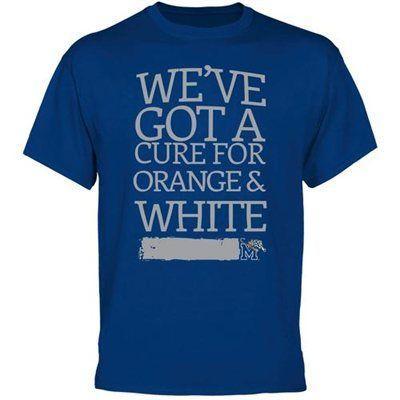 Memphis Tigers Cure T-Shirt - Royal Blue -