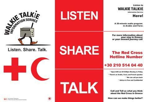 The Walkie Talkie Information Service - IFRC
