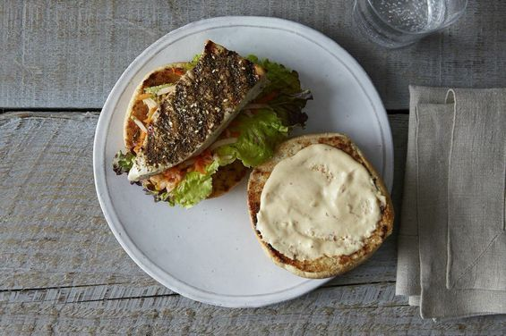 5 Tips for the Perfect Grilled Fish Sandwich on Food52 (But with tartar sauce and no pickle)