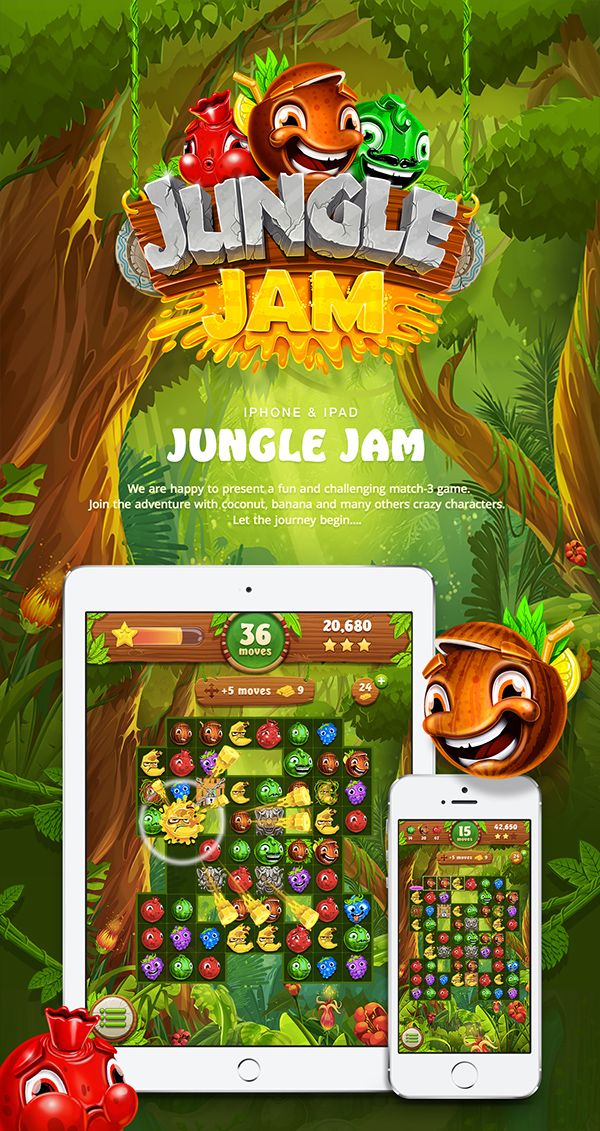 Jungle Jam on Behance