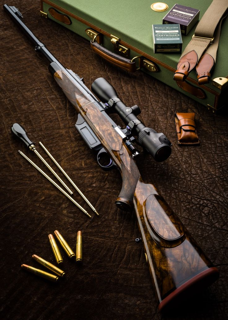 Westley Richards Take Down Bolt Action .425