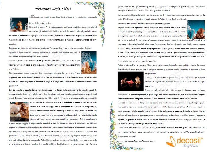 Leggi e Stampa le storie dei personaggi decosil e regalale ai bambini abbinandole al protagonista di #cioccolato