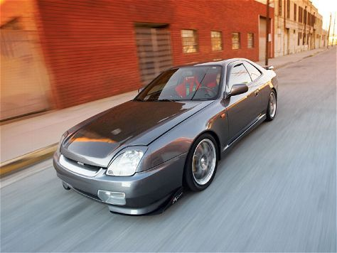 Supercharged 1998 Honda Prelude
