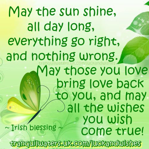 9 Best Blessings And Irish Blessings Images On Pinterest