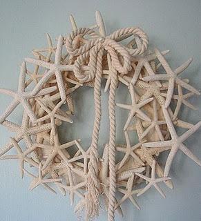 Starfish Wreath