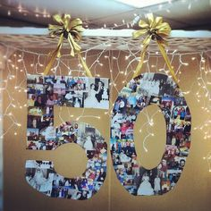 50th anniversary party ideas on a budget   50th Anniversary Decor by SublimeFoto, via Flickr. Again, change to 60 ...