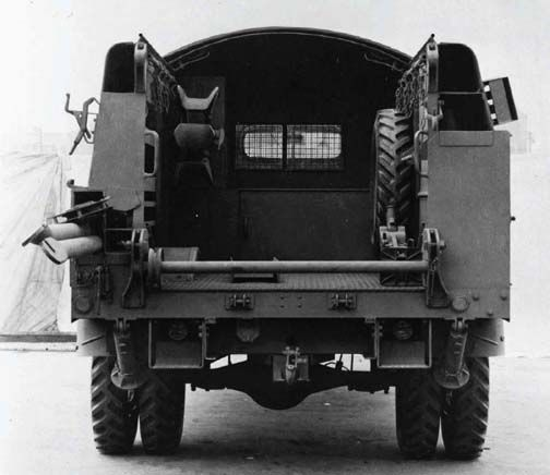 Military Line Truck