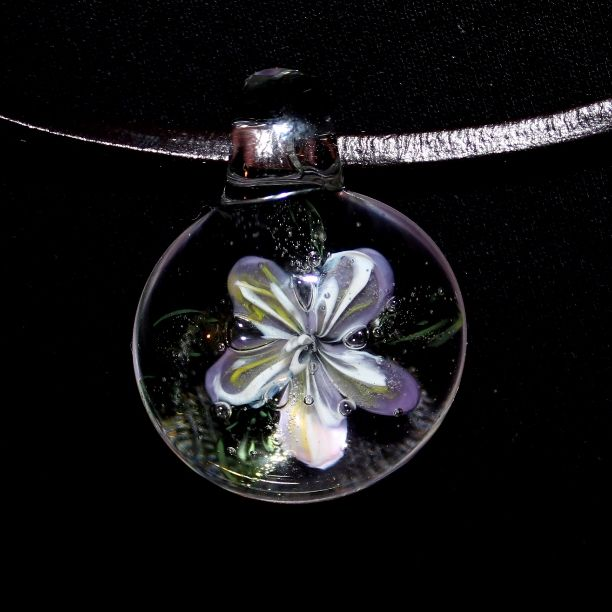 glass. Lampwork.   украшение ручной работы из стекла