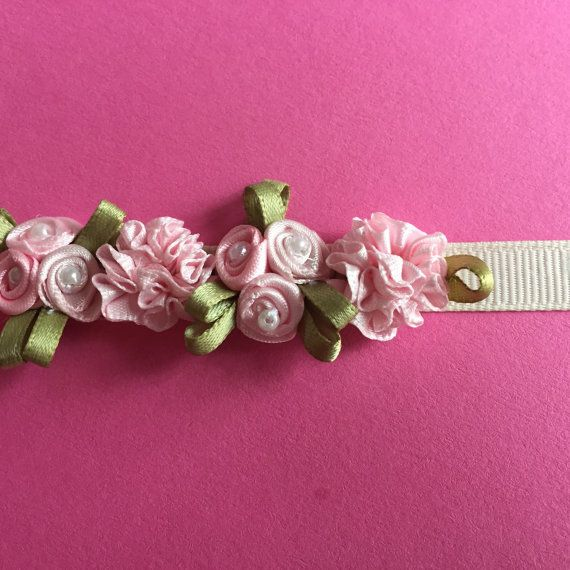 Light Pink Flower Ballet Bun Wreath by Kcodanceaccessories on Etsy