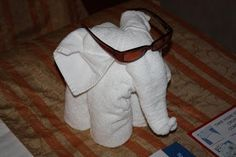 Christy: How to Make Towel Animals