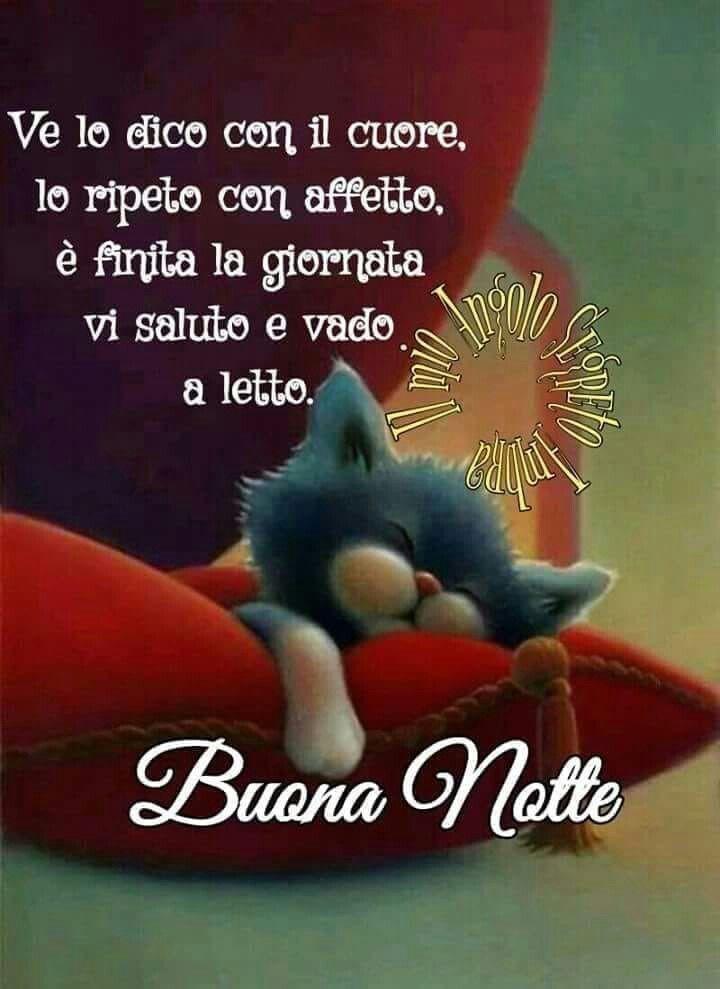 Buona Notte Picture Buonanotte Buona Notte Divertente E