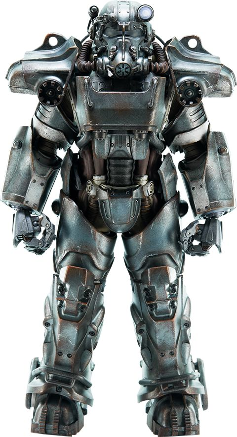 Fallout 4 T 60 Power Armor Sixth Scale Figure By Threezero