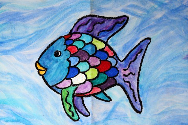 """regenbogenfisch zeichnung """"der regenbogenfisch"""" in 2020"""