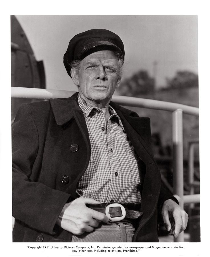 The Raging Tide (1951) - Charles Bickford (1/1/1891)-(11/9/1967)
