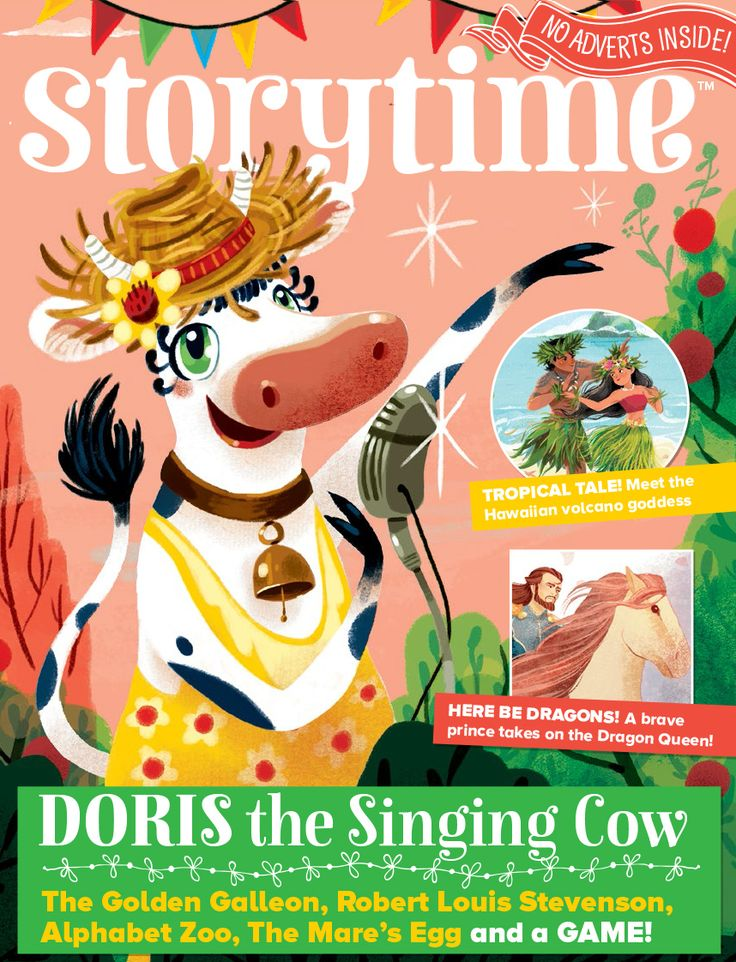 Super summery Storytime Issue 36 is out now with a singing cow, a Hawaiian legend, dragons and more! Subscribe today at http://www.storytimemagazine.com