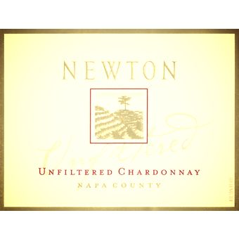 2012 Newton Unfiltered Chardonnay, The creamy texture and balanced acidity are punctuated by rich fruit flavors, including melon, fig, and baked apples. These luscious flavors are complemented by baking spices, vanilla and honey accents, all of which linger on the long finish
