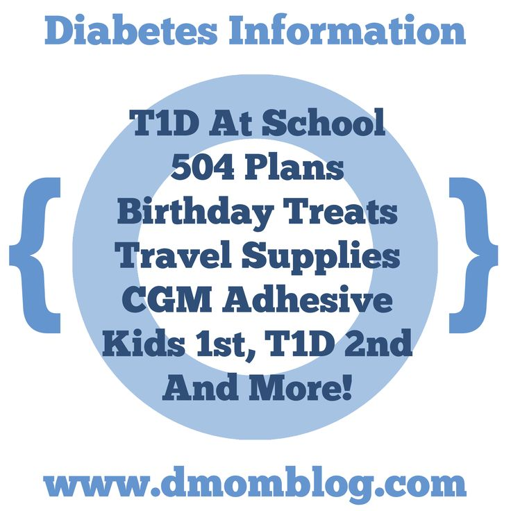 17 Best Images About Back To School With Diabetes On