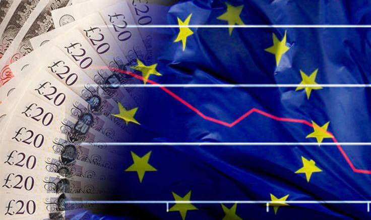 Pound to euro exchange rate - sterling steadies after Eurozone slump