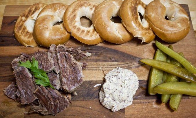 SORTED - Salt beef bagel