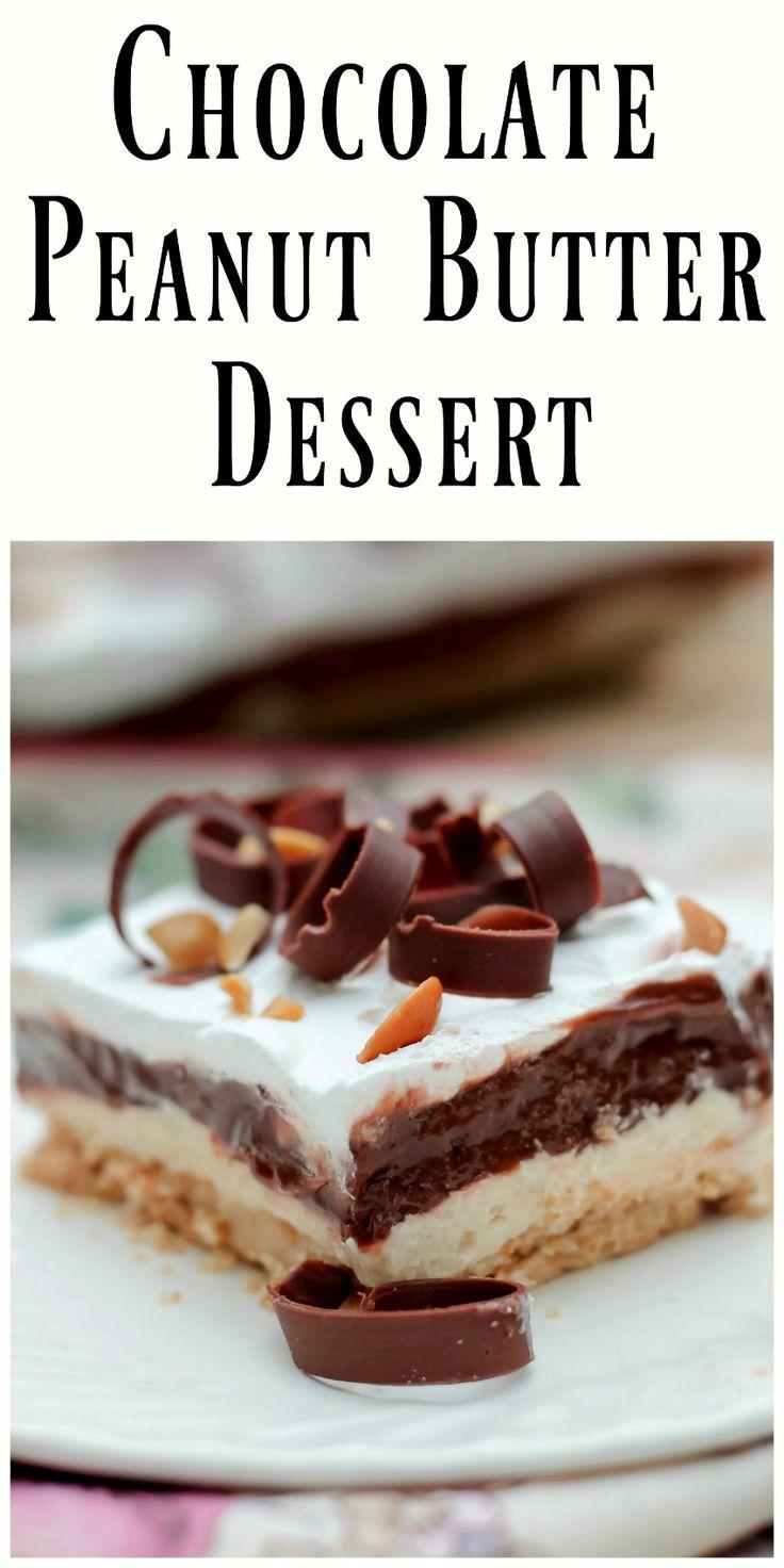 5313 best images about best desserts on pinterest lemon for Easy peanut butter dessert recipes