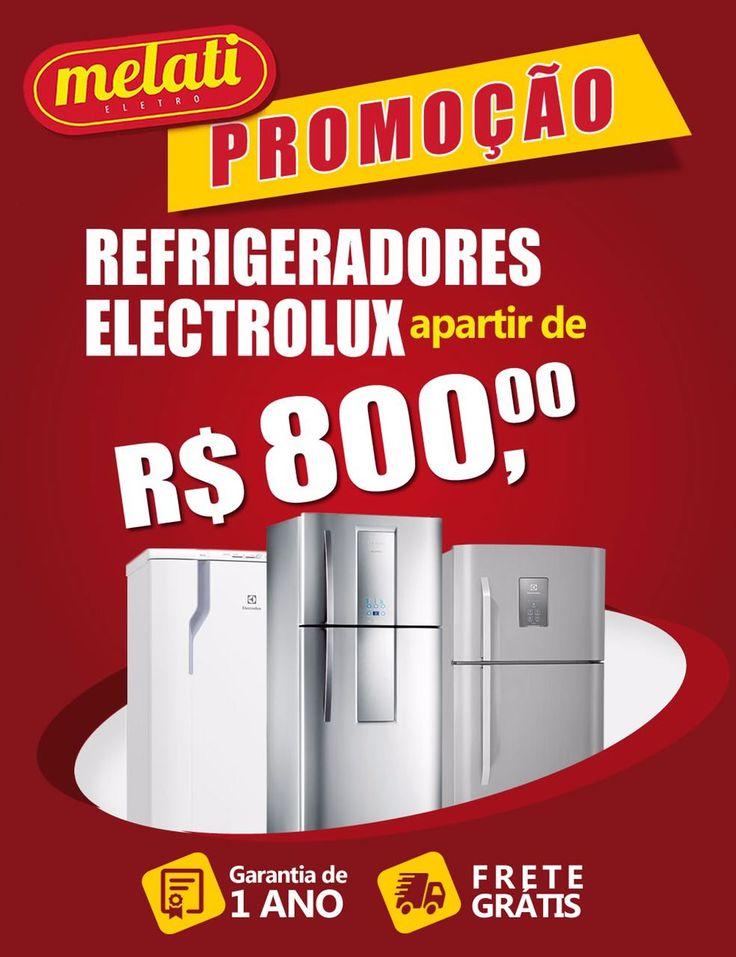 SALDÃO DE REFRIGERADORES A PARTIR DE R$ 800,00 😱 ========================================== CLASSIFICAÇÃO DO PRODUTO SALDO => https://www.melatieletro.com.br/pagina/nossos-produtos.html  ==========================================  📌 ❶ A͟͟N͟͟O͟͟ D͟͟E͟͟ G͟͟A͟͟R͟͟A͟͟NT͟͟I͟͟A͟͟ CONTRA DEFEITO FUNCIONAL  ==========================================  🚛 F͟͟R͟͟E͟͟T͟͟E͟͟ G͟͟R͟͟A͟͟T͟͟I͟͟S͟͟ consulte as regras do frete grátis ==========================================  📍ENDEREÇO DA LOJA   RUA INGÁ…