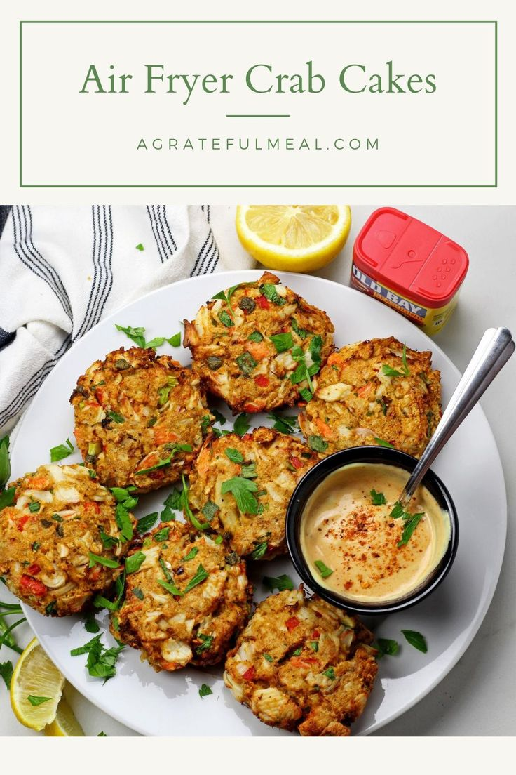 Air fryer crab cakes a grateful meal recipe crab
