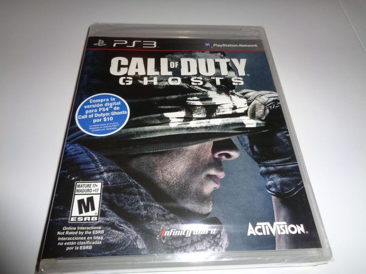 Call of Duty Ghosts PS3 New PlayStation 3,  sealed IN FRENCH