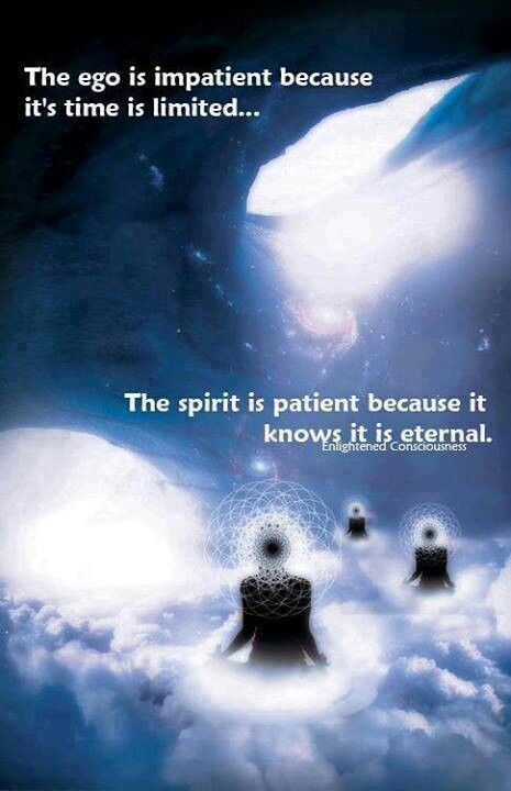Understand the  difference between the Ego & Spirit
