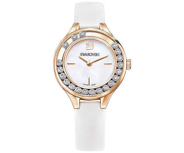 Reloj Lovely Crystals Mini, blanco - Relojes - Boutique Swarovski en línea