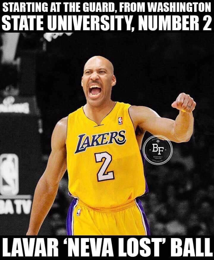 RT @NBAMemes: The Lakers new guard... #LakeShow #LaVarBall Cred: Jamey Dogom Graphic made by Basketb - http://nbafunnymeme.com/nba-funny-memes/rt-nbamemes-the-lakers-new-guard-lakeshow-lavarballcred-jamey-dogomgraphic-made-by-basketb