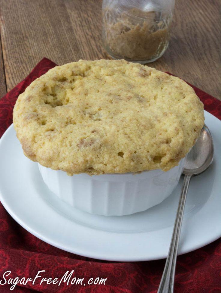 Sugar Free Cookie Butter Mug Cake - Low Carb
