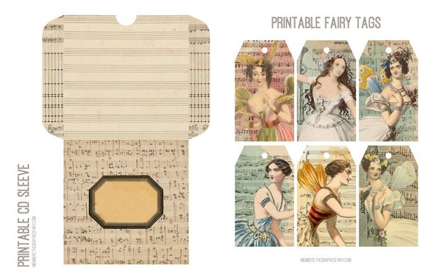 Antique Sheet Music Images Kit! Graphics Fairy Membership - The Graphics Fairy