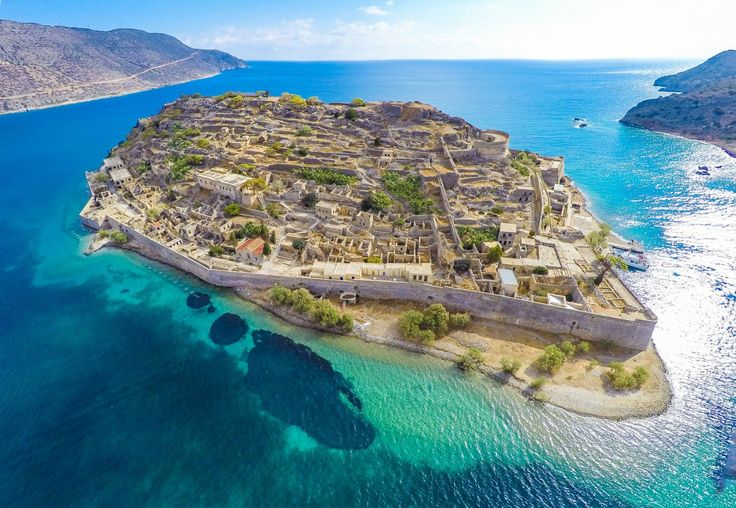 The island of #Spinalonga in #Crete, #Greece