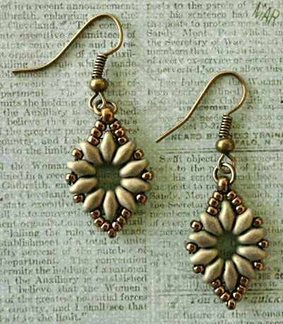 Linda's Crafty Inspirations: A Couple of Bracelet & Earring Sets