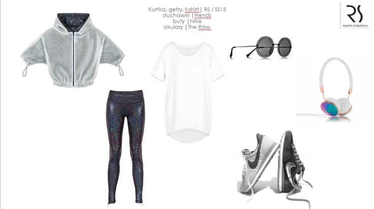 #ranitasobanska #rs #fashiondesigner #holographic #hologram #blouse #leggins #nike #sneakers #fashion #moodboard #ss15