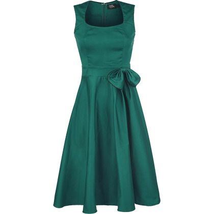 Tut je lekker op met deze klassieke jurk in het groen! http://stylefru.it/s883759 #bruiloft #groen #feestjurk
