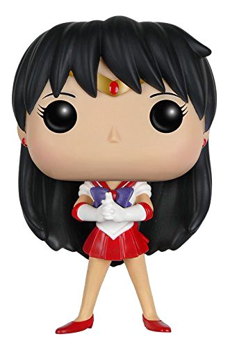 Official Sailor Mars Sailor Moon Funko Pop! Figure! More images and shopping links here http://www.moonkitty.net/buy-sailor-moon-funko-pop.php