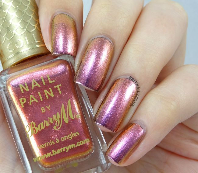 awesome Brit Nails: Barry M Aquarium Collection Swatches and Review