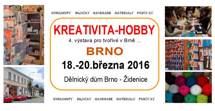 KREATIVITA-HOBBY BRNO 2016 SPRING