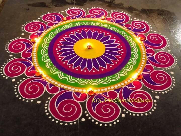 Kolam by Shanthi Sridharan