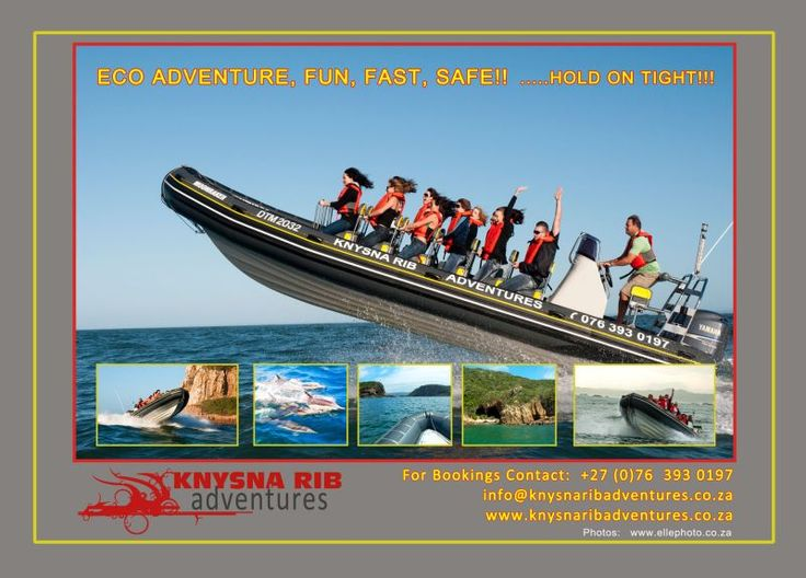 Hold on tight for a safe ride on the unique Knysna RIB adventure power boat. Knysna RIB Adventures offers a unique combination eco adventure tour. http://wikivillage.co.za/knysna-rib-adventures