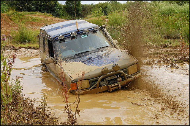 4x4 Off Roading Avon Dassett - Land Rover Discovery