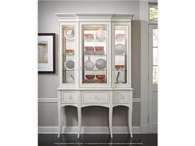 Shop For Habersham Plantation Corporation Classic Curio With Antique Mirror Back O Mullions And Other Dining Room Cabinets At Lenoir Empire Furniture