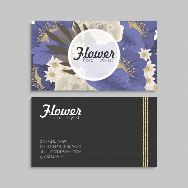 Download Floral Business Card For Free Floral Business Cards Vintage Wedding Stationery Wedding Invitation Card Template